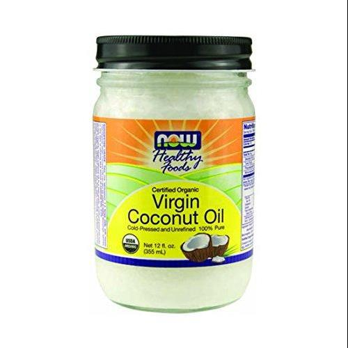 Now Foods Ellyndale Organic Coconut Oil Virgin 12 Oz (Pack Of 2)