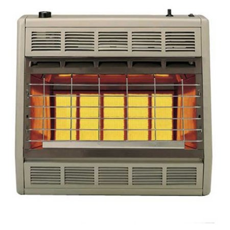 30000 Natural - Empire Infrared Heater Natural Gas 30000 BTU, Manual Control 3 Settings