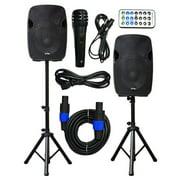 """2x Ignite Pro 10"""" Pro Series Speaker DJ / PA System / Bluetooth"""