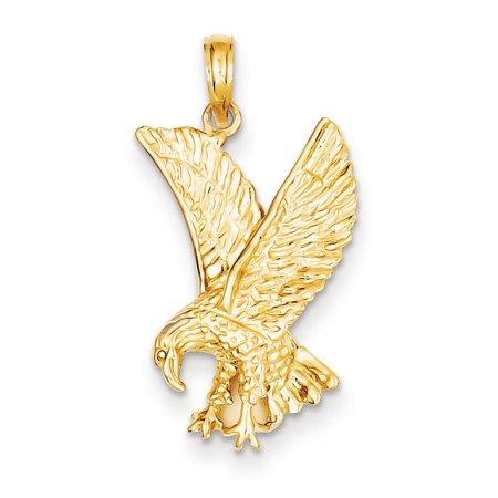 14K Yellow Gold Landing Eagle Pendant (The Landing Stores)