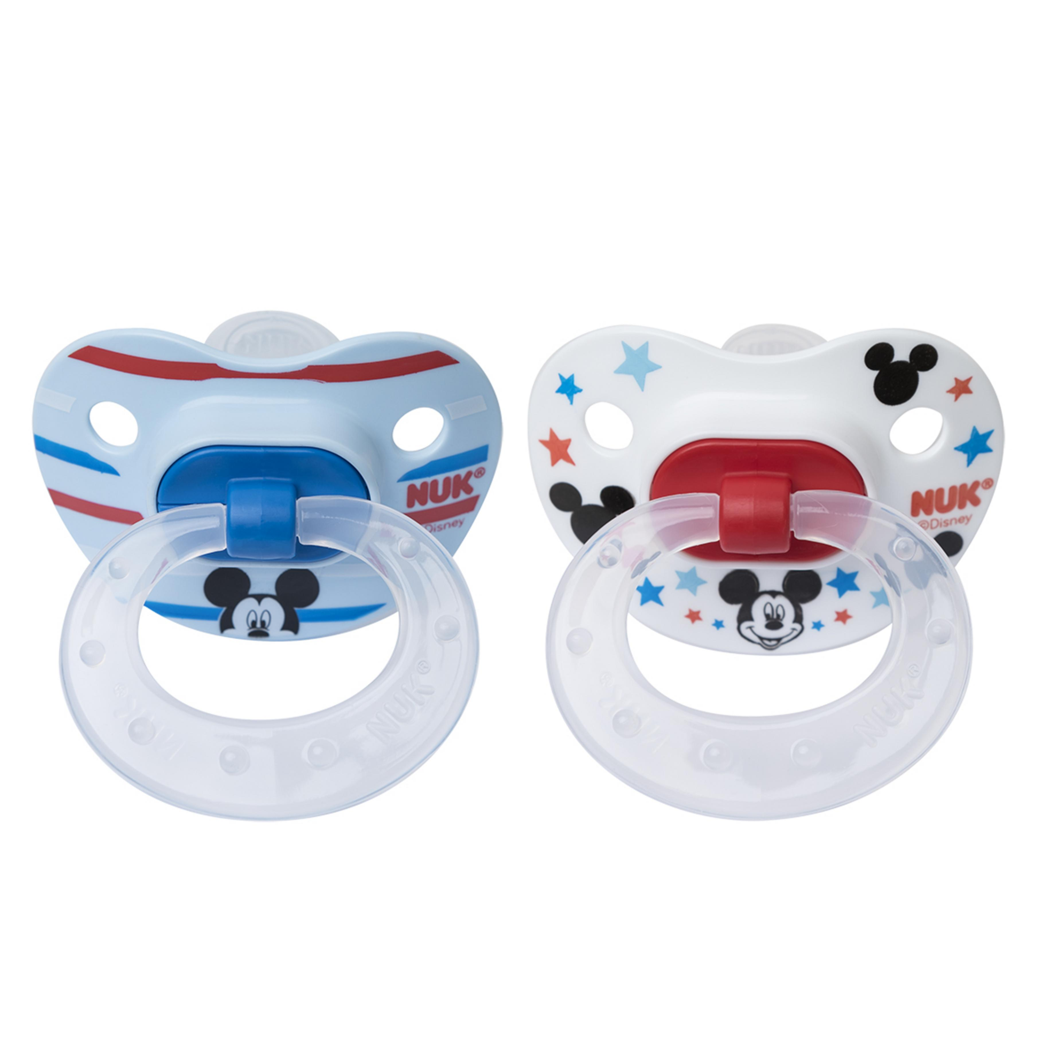 Nuk Disney Baby Orthodontic Pacifier 0-6m - 2 CT