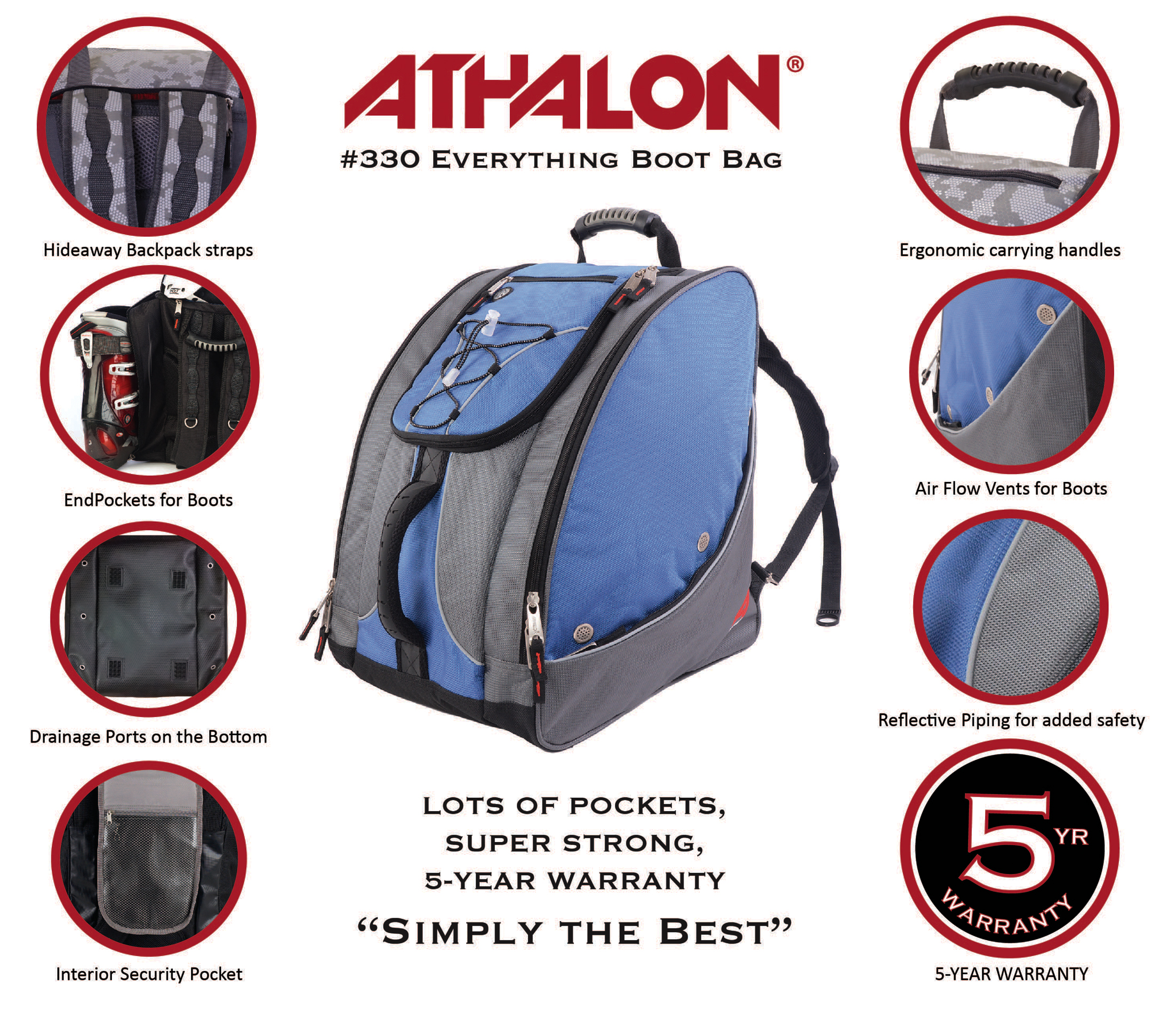 fe2803a60f athalon everything boot bag - Walmart.com