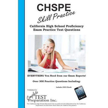 Amazon.com: Customer reviews: CHSPE Preparation Book ...
