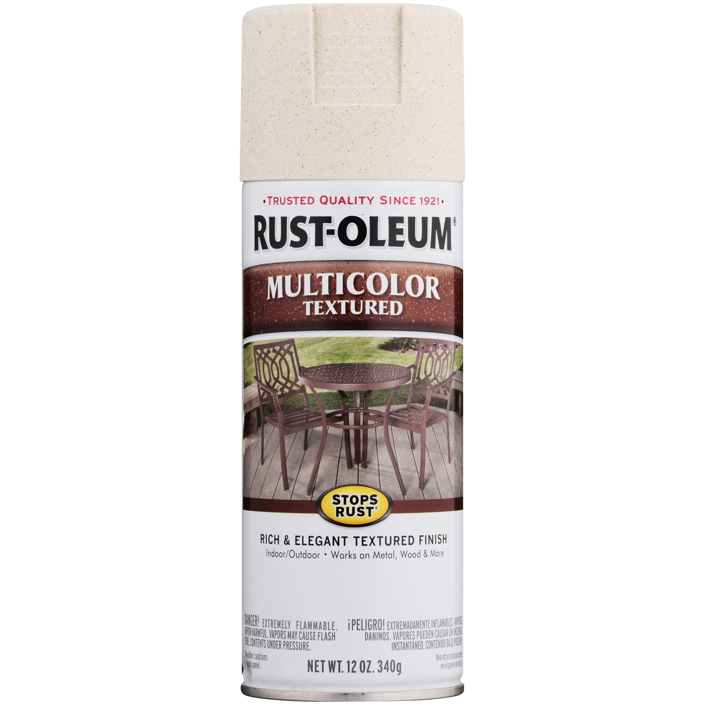 Rust Oleum Stops Rust Multicolor Textured Spray Paint 12 oz