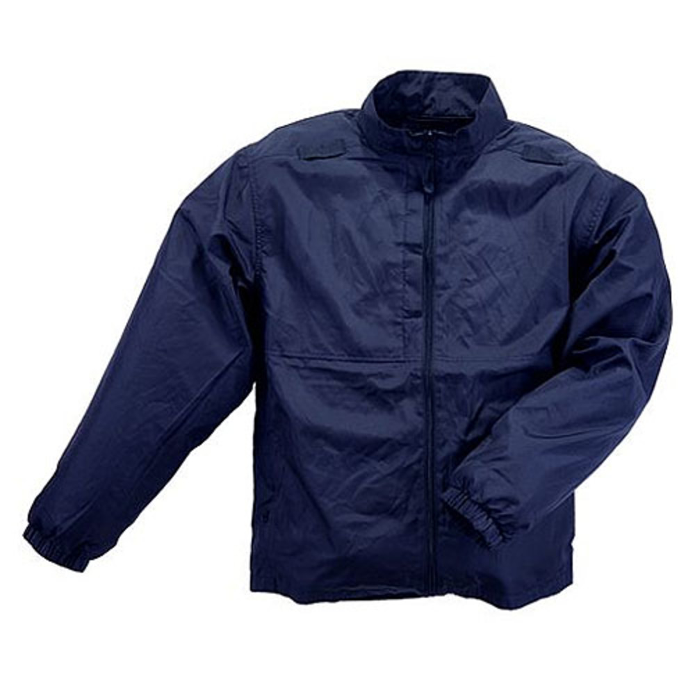 5.11 Tactical Men Packable Jacket, Black, Dark Navy thumbnail