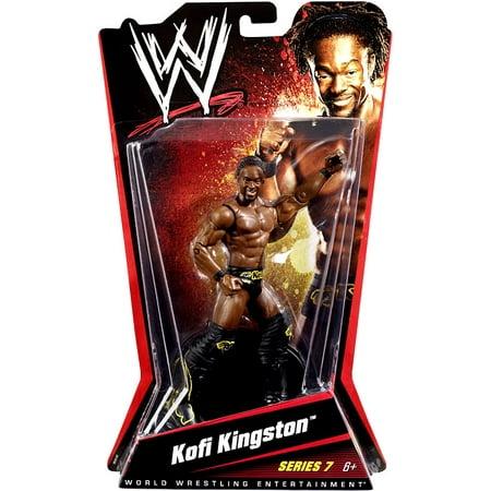 WWE Wrestling Basic Series 7 Kofi Kingston Action