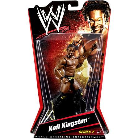 WWE Wrestling Basic Series 7 Kofi Kingston Action - Kofi Kingston Kids