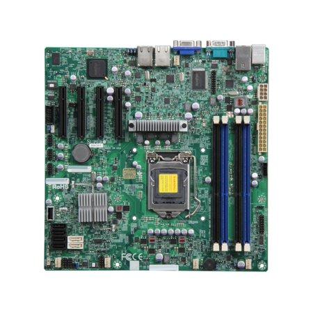 Supermicro X9SCM-F LGA 1155 Intel C204 Micro ATX Intel Xeon E3 Server Motherboard (Dedicated Micros Dvip Server)