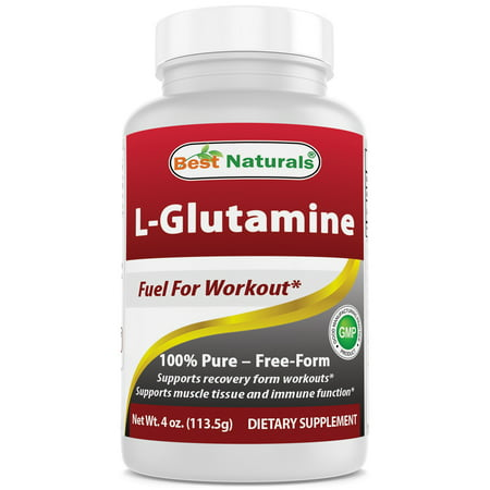 Best Naturals L-Glutamine Powder 4 OZ