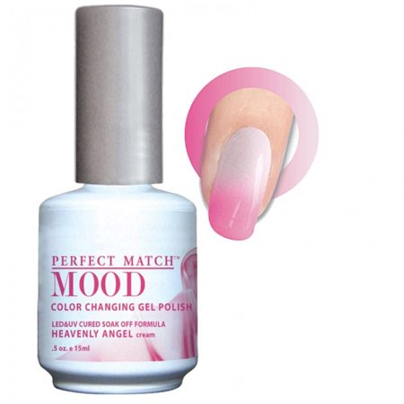 Angel Makeup Ideas (LECHAT Perfect Match MOOD - Color Changing Gel Polish 0.5oz/ 15ml (MPMG19 - HEAVENLY)