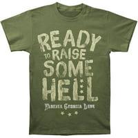 Florida Georgia Line Men's  Ready To Raise Some T-shirt Military