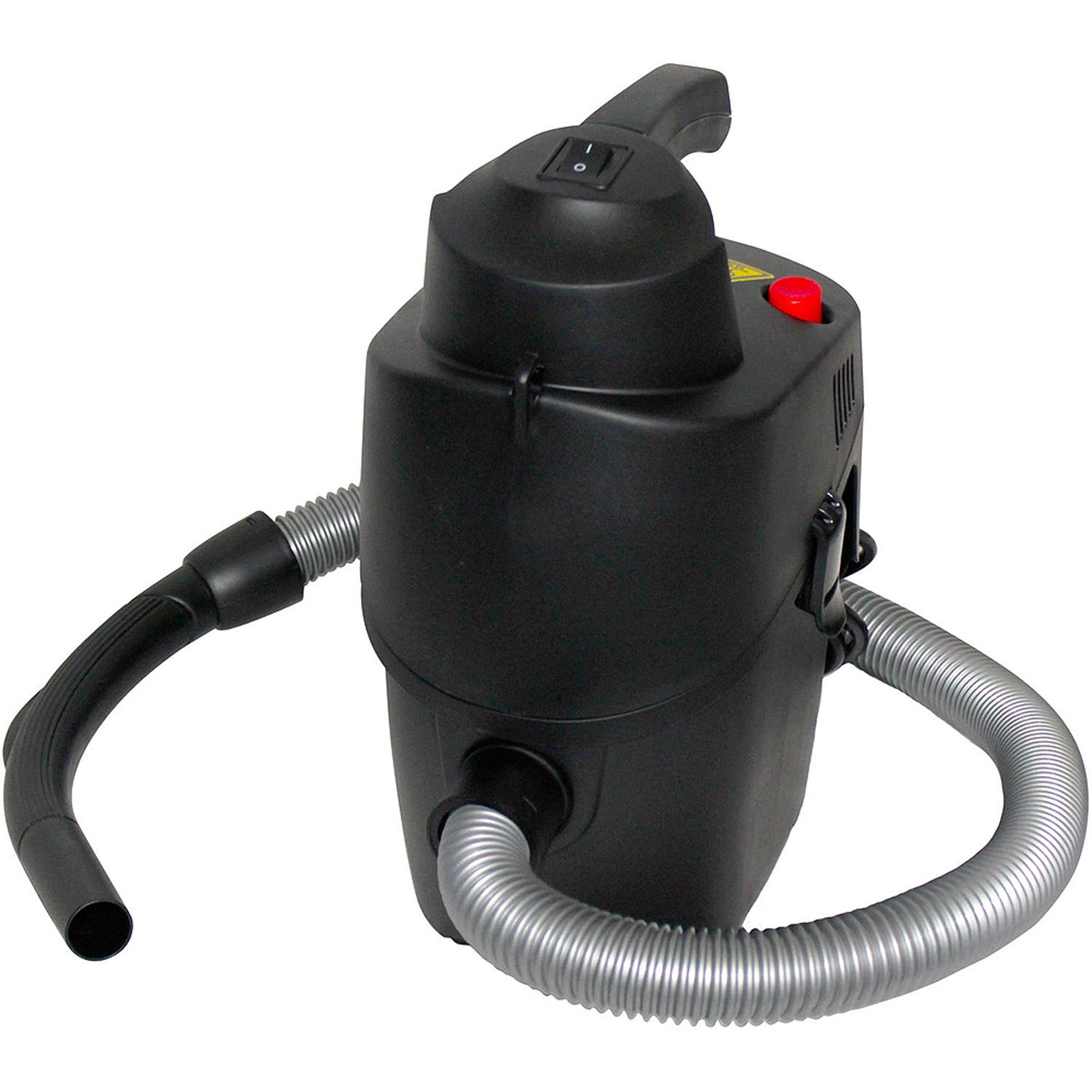 Keystone SMARTVAC 4.5HP Self-Cleaning Hand-Held Indoor/Outdoor Dry Vac, Black