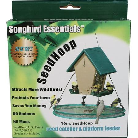 Songbird Essentials-Seedhoop Seed Catcher- Green 16 -