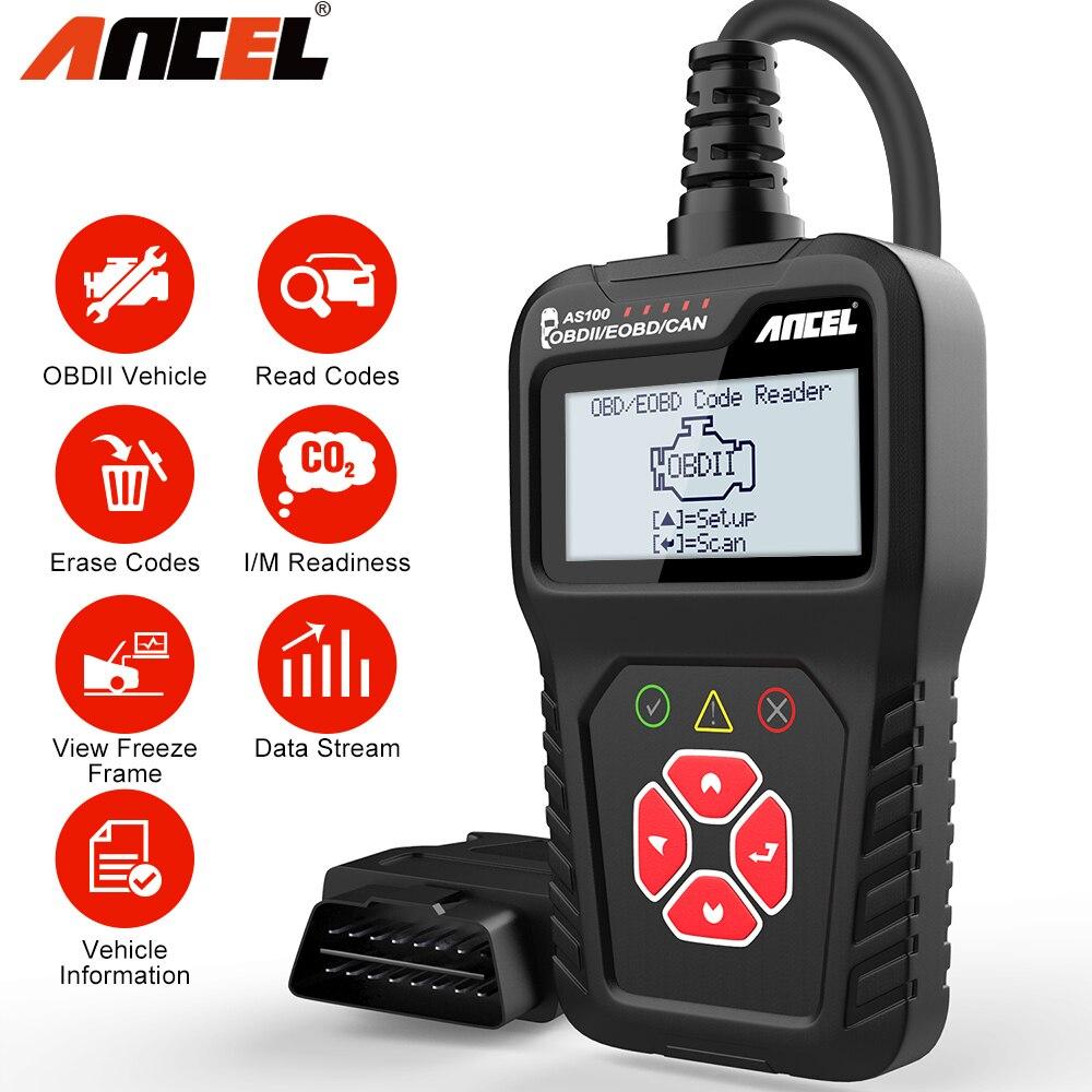 OBD2 OBDII Auto Scanner Code Reader Tool Car Check Engine Fault Diagnostic Tool