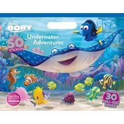 Floor Coloring Pad: Disney Pixar Finding Dory Underwater Adventures Coloring Floor Pad (Paperback)