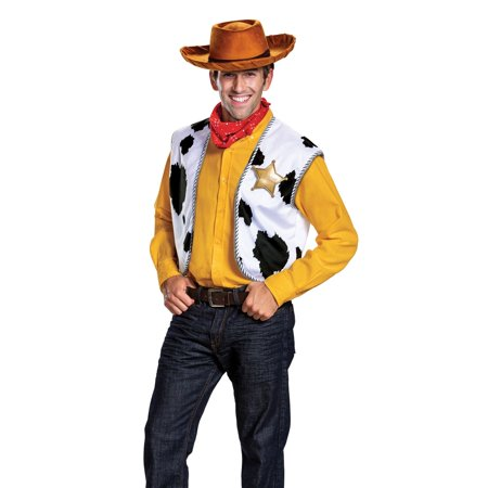 Halloween Toy Story: Woody Deluxe Adult Kit](Woody Halloween Costume 2t)