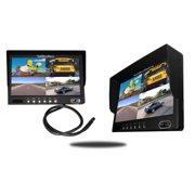 Tadibrothers 7 Inch Split Screen LCD Monitor for up to 4 Cameras
