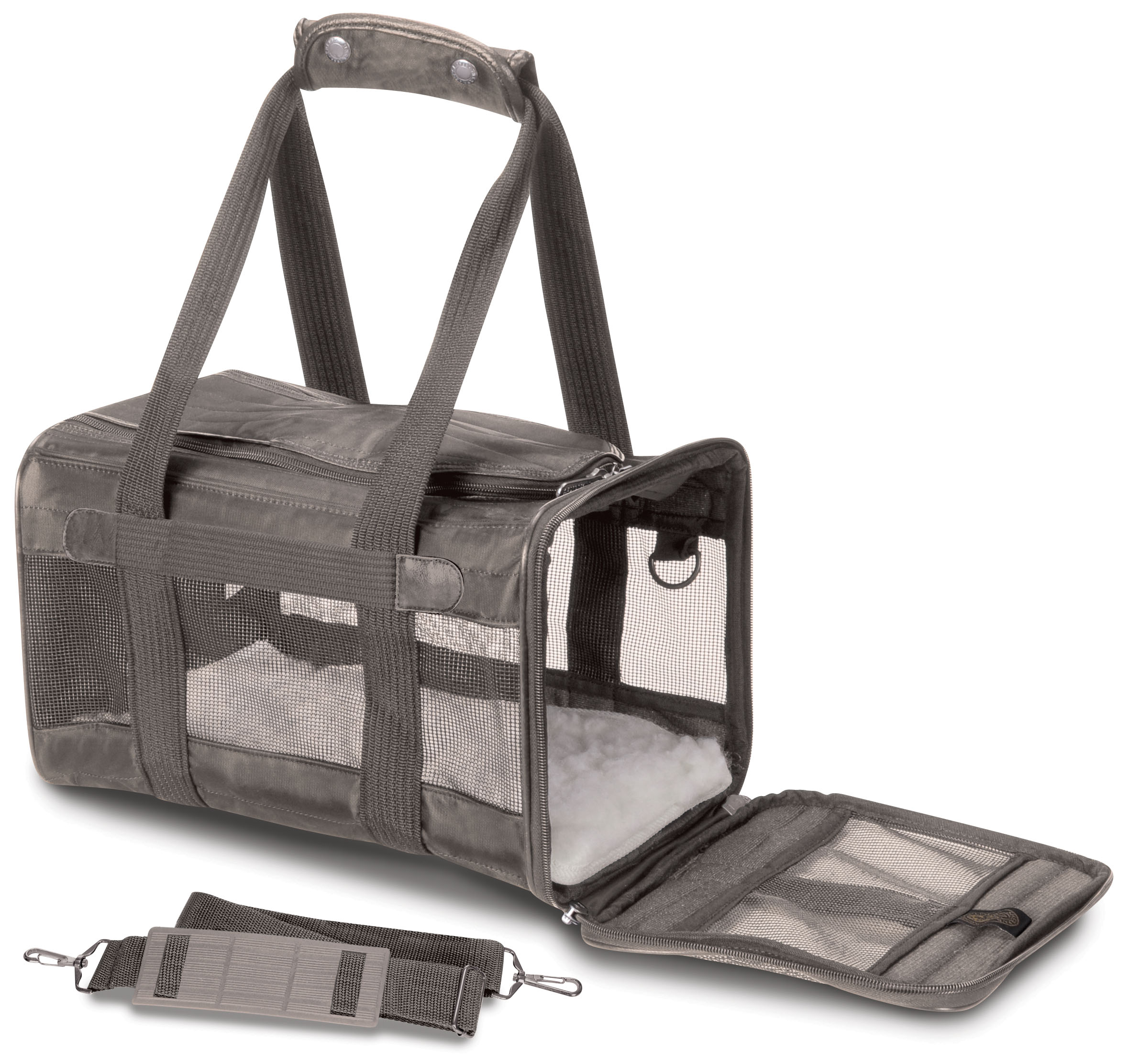 Sherpa® Original Deluxe™ Pet Carrier, Small, Gray