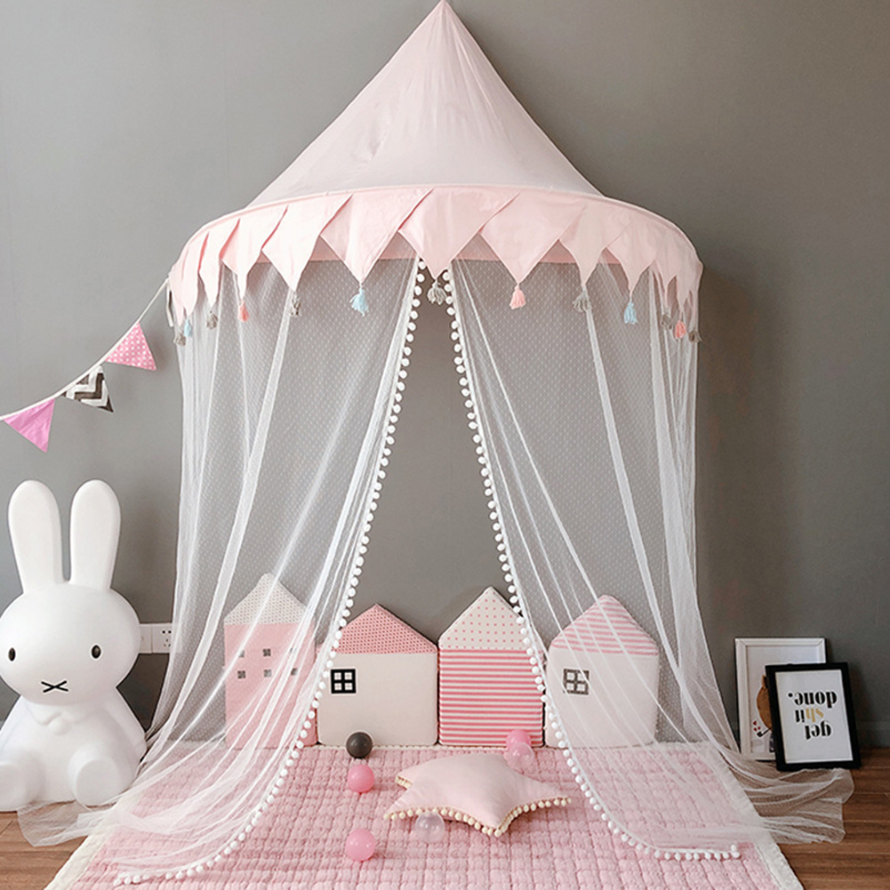 Baby Tent Exquisite Sturdy Semi-circular Children's Bed Canopy for