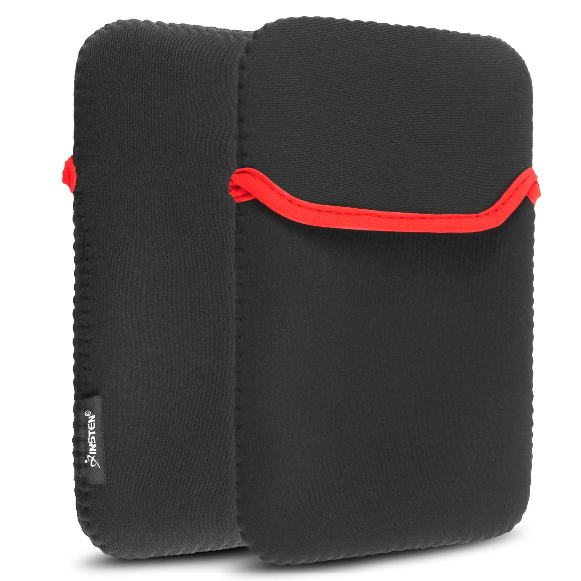 Insten Black Red 7 inch Tablet Sleeve Case Pouch For iPad Mini Retina Display Kindle Fire HD Nook Color Google Nexus 7