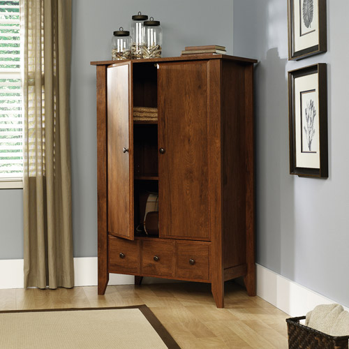 Sauder Shoal Creek Armoire, Oak