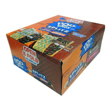 KELLOGGS POP TART SPLITZ SGR CKY BROWNIE BATTER 6/3.53oz - Brownie Pops Halloween