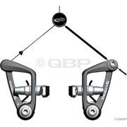 Avid Shorty 6 Front Cantilever Brake Black with Road Shoes