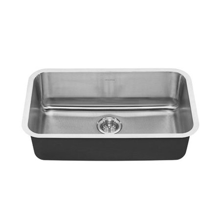 American Standard 18SB.9301800S Portsmouth 29-3/4u0022 Single Basin Stainless Steel Kitchen Sink for Undermount
