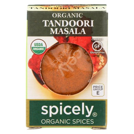 Spicely Organics - Organic Tandoori Masala Seasoning - Case Of 6 - 0.45