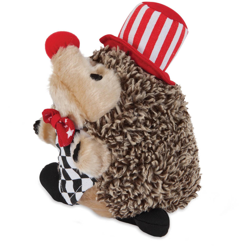 Clown Heggie Plush Dog Toy
