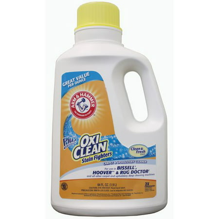 Arm amp Hammer Oxiclean Carpet Cleaner 64 Oz Walmartcom