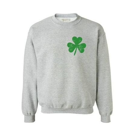 - Awkward Styles St. Patricks Day Sweater Irish Clover Pocket Sweatshirt Proud Irish Sweatshirt for Men & Women Lucky Shamrock Sweater St Paddy's Day Irish Gifts Irish Pride St Patricks Sweater