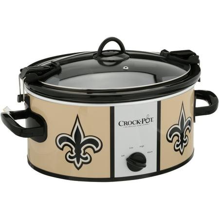 Crock-Pot NFL 6 Quart Slow Cooker 4 Piece Multi Cooker