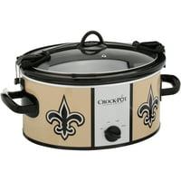Crock-Pot NFL 6 Quart Slow Cooker
