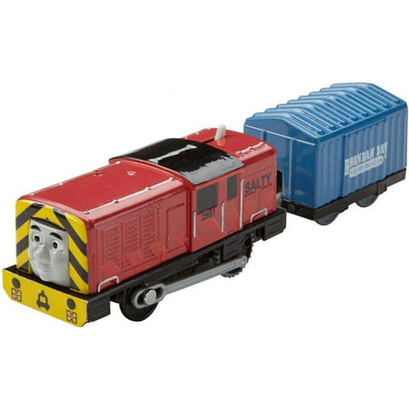 Thomas & Friends TrackMaster Motorized Salty Train with Cargo