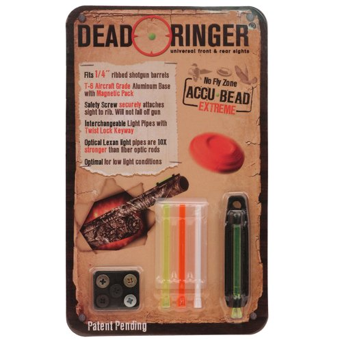 Dead Ringer Universal Shothun Sights 1/4 Accu-Bead Extreme