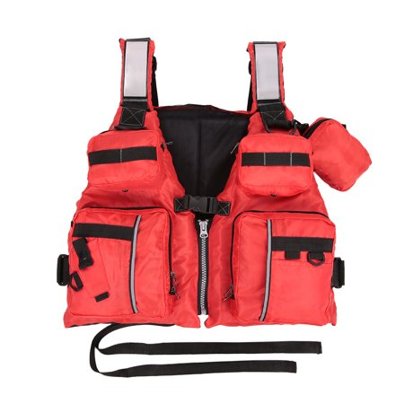 Adult Detachable Aid Sailing Kayak Canoeing Fishing Vest - image 1 of 7