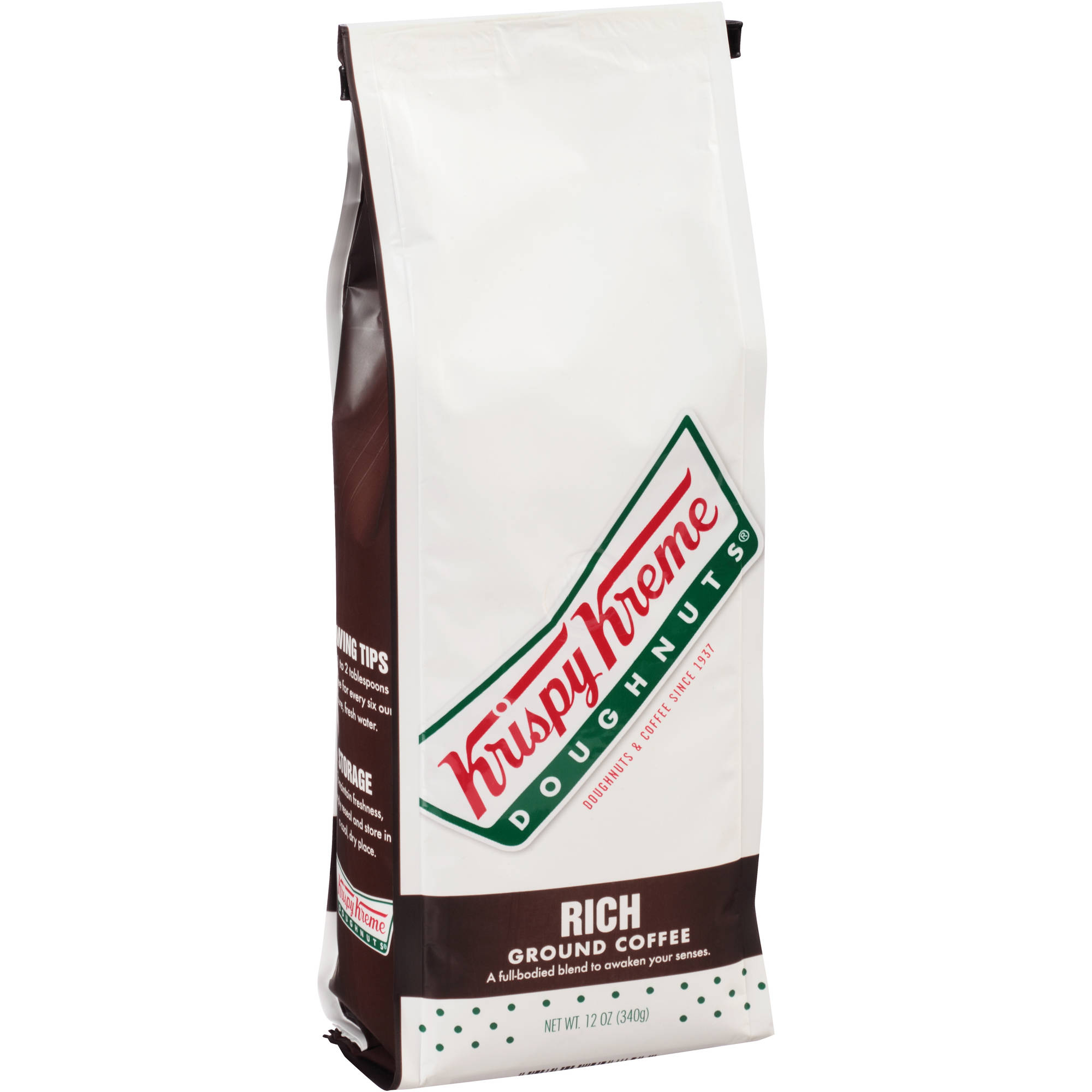 Krispy Kreme Doughnuts Rich Ground Coffee, 12 oz