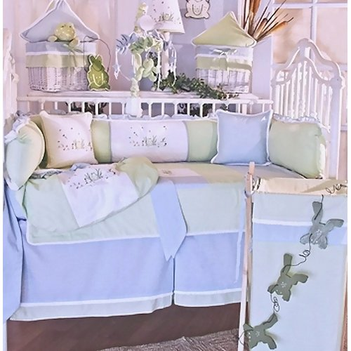 Brandee Danielle Sammy 4 Piece Crib Bedding Set