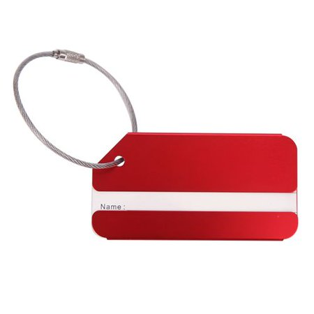 AkoaDa Luggage Tags Luggage Tags Luggage Tags Made of Aluminum with Name Page AkoaDa Luggage Tags Luggage Tags Luggage Tags Made of Aluminum with Name Page