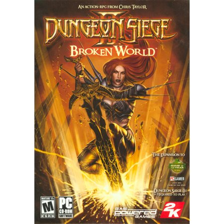 Dungeon Siege 2: Broken World Expansion Pack- XSDP -05100 - Dungeon Siege II: Broken World is intense role-playing that expands on the unique gameplay and action of the first two - Dungeon Scene