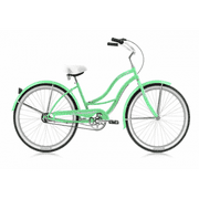 Stainless Steel Beach Cruiser in Green
