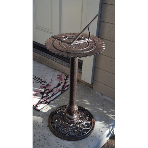 Innova Hearth and Home Sunflower Sundial