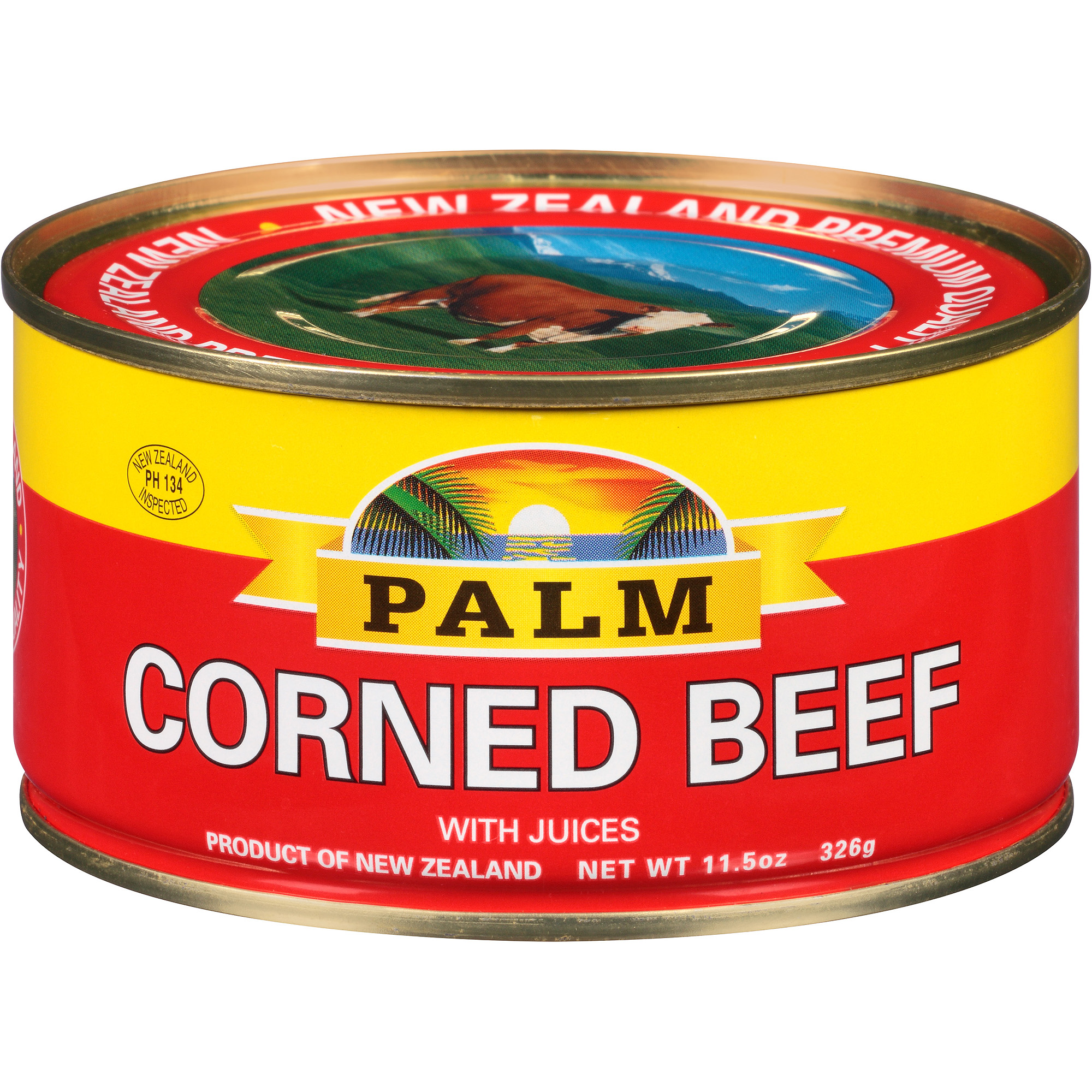 Palm Corned Beef with Juices, 11.5 oz by McCallum Industries