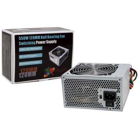 Buy Now Logisys PS550E12 550W Power Supply PSU 20+4 pin 550w Watt PC Computer Before Too Late