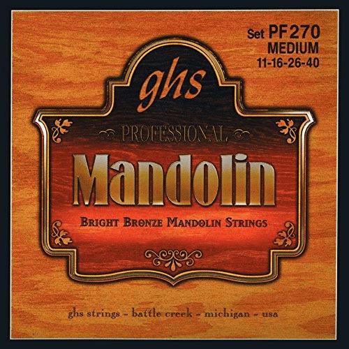 Ghs Mandolin Br Brnz Med by GHS