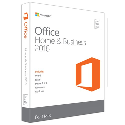 Microsoft Office Home and Business 2016 for Mac