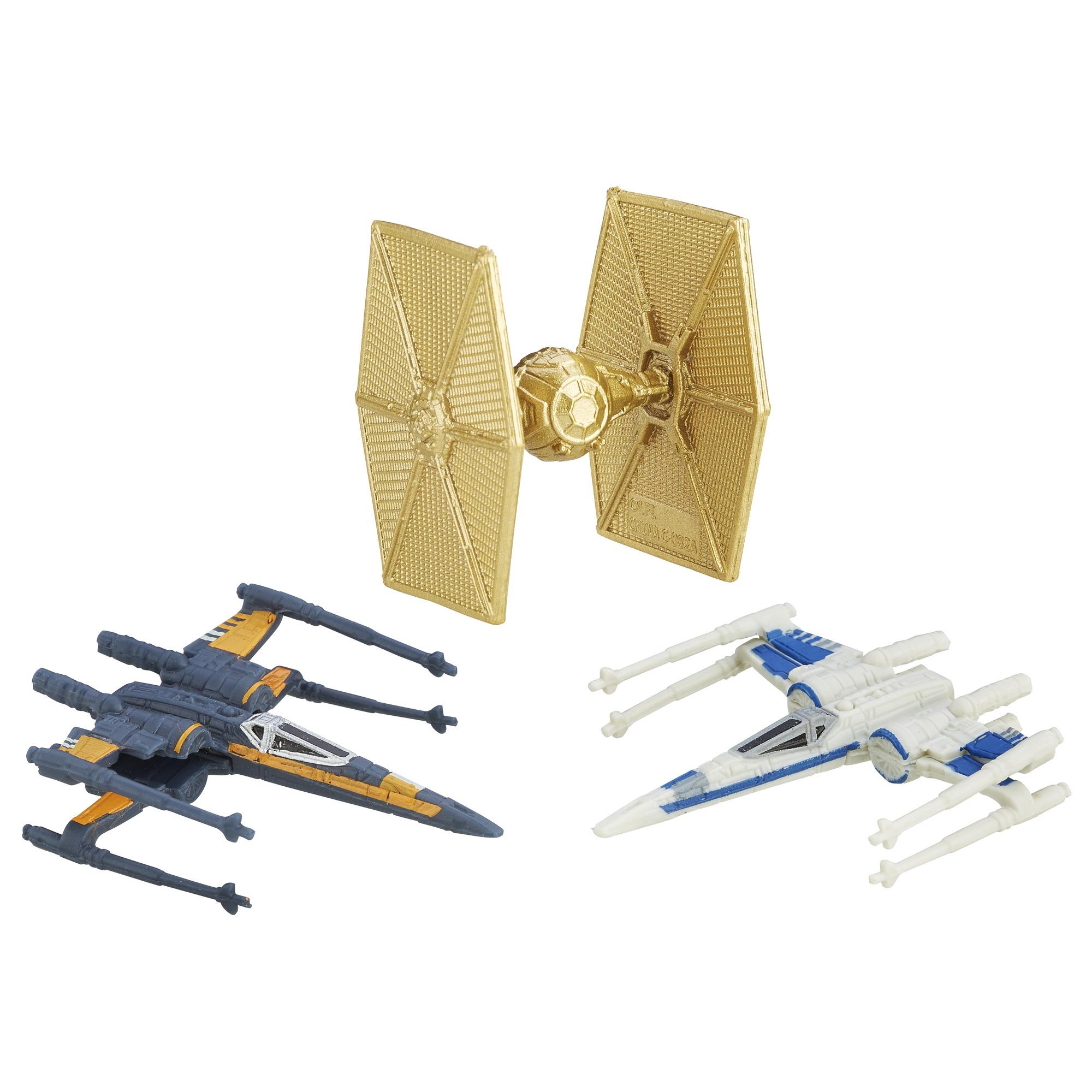 Star Wars: The Force Awakens Micro Machines 3 Pack Starfighter Assault