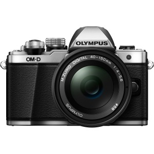 Olympus OM-D E-M10 Mark II 16.1 Megapixel Mirrorless Camera with Lens