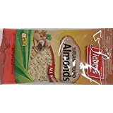Lieber's Natural Ground Almonds All Natural KFP 6 Oz. Pack Of 3.